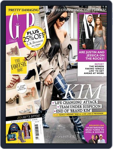 Grazia (Digital) October 17th, 2016 Issue Cover