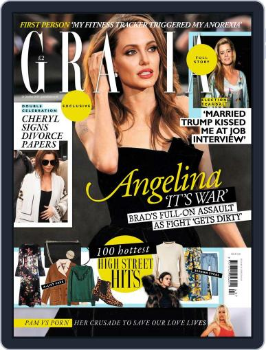 Grazia October 24th, 2016 Digital Back Issue Cover