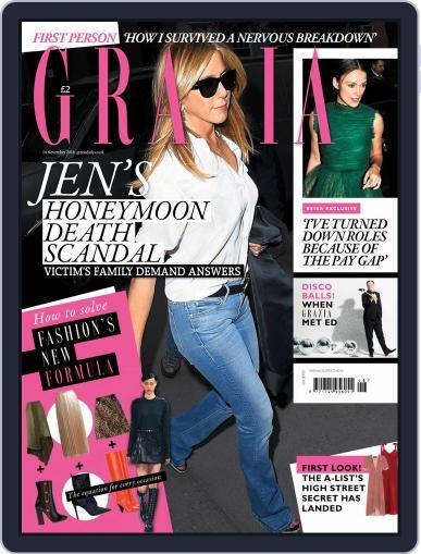 Grazia November 14th, 2016 Digital Back Issue Cover