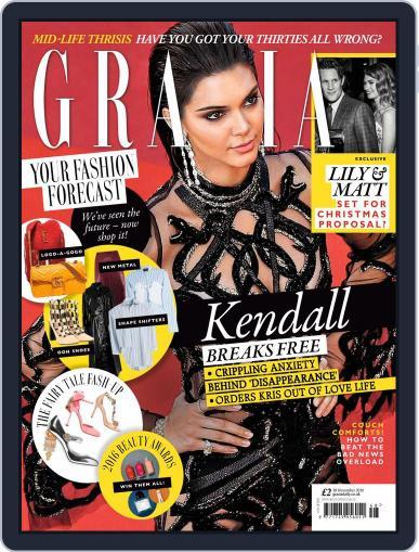 Grazia (Digital) November 28th, 2016 Issue Cover