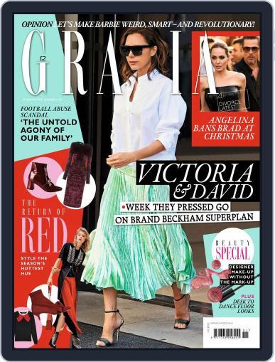 Grazia (Digital) December 19th, 2016 Issue Cover