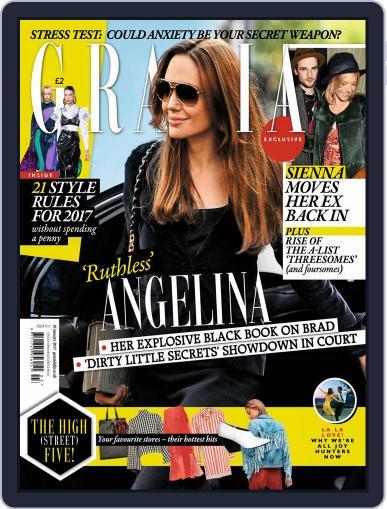 Grazia (Digital) January 16th, 2017 Issue Cover