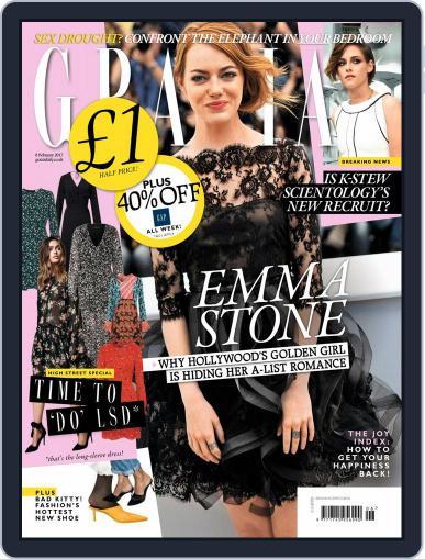Grazia (Digital) February 6th, 2017 Issue Cover