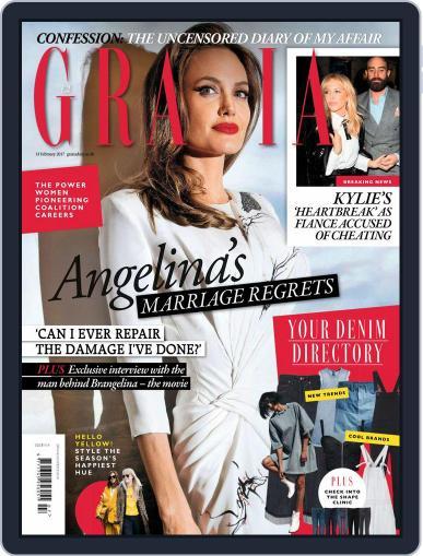 Grazia (Digital) February 13th, 2017 Issue Cover
