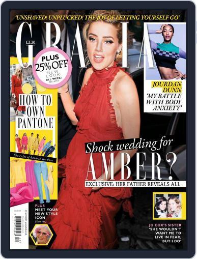 Grazia (Digital) April 24th, 2017 Issue Cover