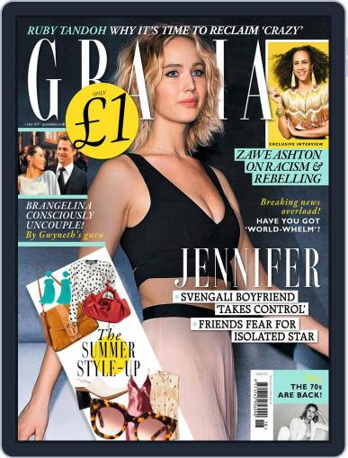 Grazia (Digital) May 1st, 2017 Issue Cover