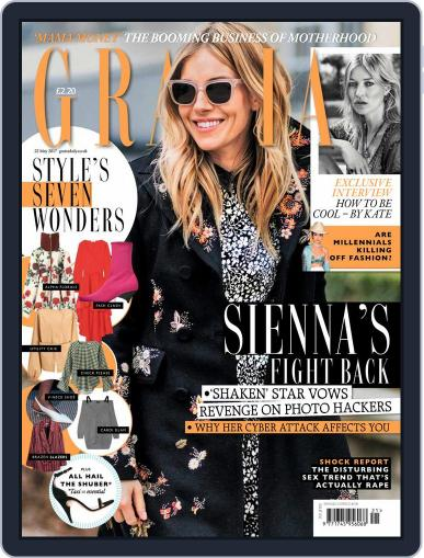 Grazia (Digital) May 22nd, 2017 Issue Cover