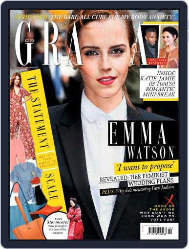 Grazia (Digital) May 29th, 2017 Issue Cover