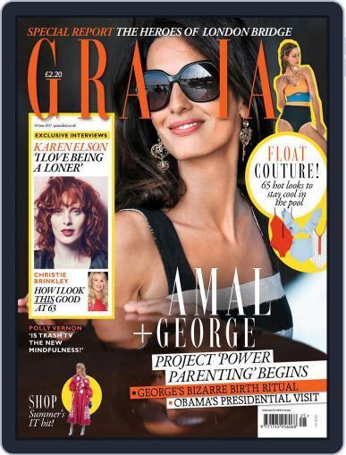 Grazia (Digital) June 19th, 2017 Issue Cover