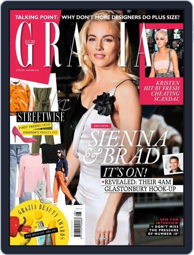 Grazia (Digital) July 10th, 2017 Issue Cover