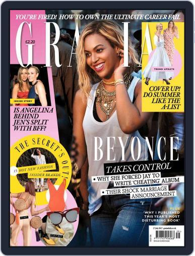 Grazia (Digital) July 17th, 2017 Issue Cover