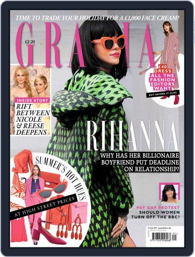 Grazia July 31st, 2017 Digital Back Issue Cover
