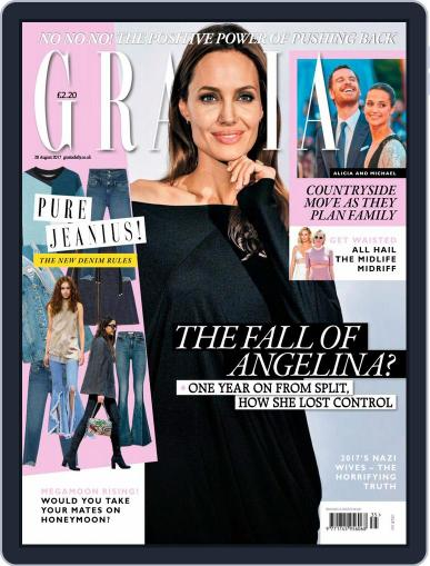 Grazia August 28th, 2017 Digital Back Issue Cover