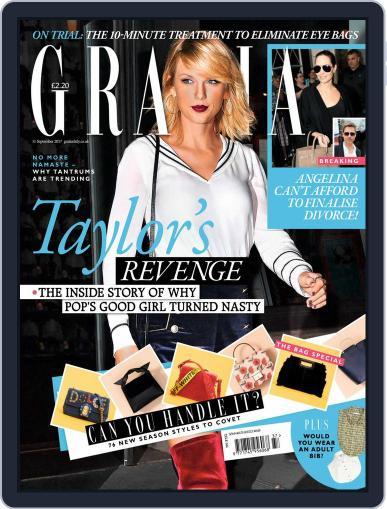 Grazia (Digital) September 11th, 2017 Issue Cover