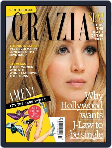 Grazia (Digital) October 16th, 2017 Issue Cover