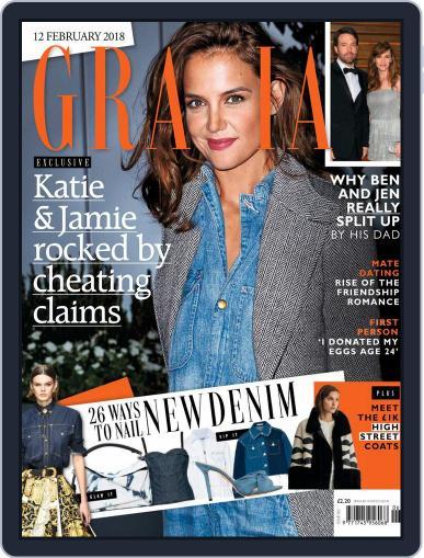 Grazia February 12th, 2018 Digital Back Issue Cover