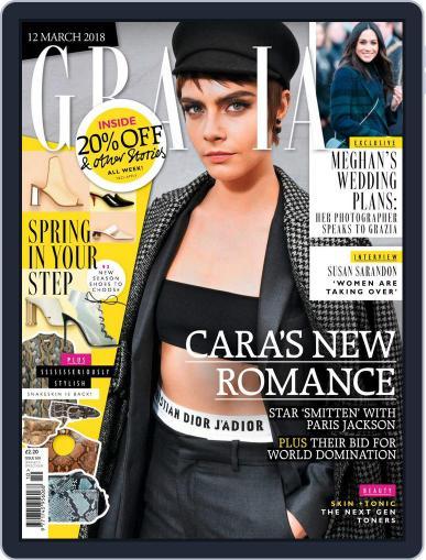 Grazia (Digital) March 12th, 2018 Issue Cover