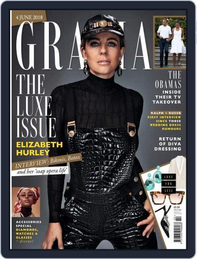 Grazia June 4th, 2018 Digital Back Issue Cover