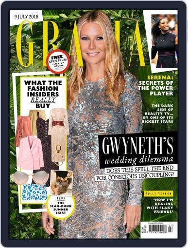 Grazia (Digital) July 9th, 2018 Issue Cover
