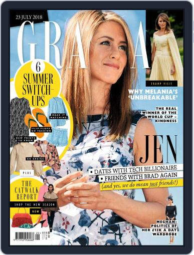 Grazia (Digital) July 23rd, 2018 Issue Cover