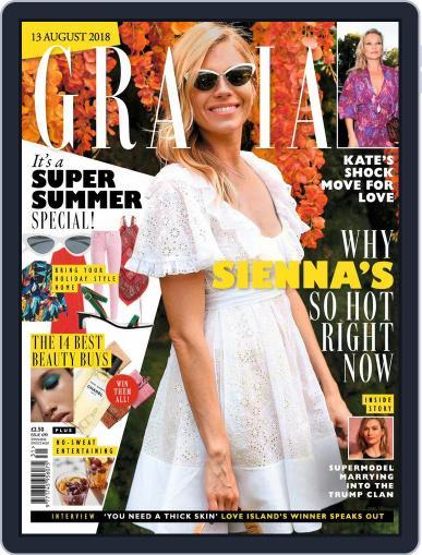 Grazia (Digital) August 13th, 2018 Issue Cover