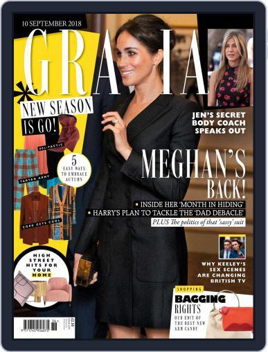 Grazia (Digital) September 10th, 2018 Issue Cover