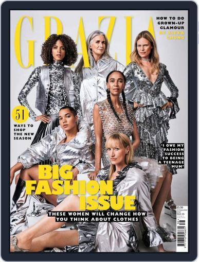 Grazia September 24th, 2018 Digital Back Issue Cover