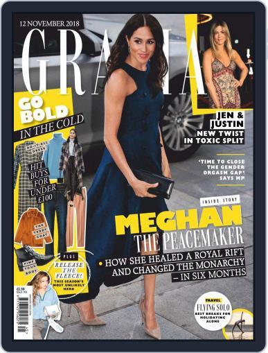 Grazia (Digital) November 12th, 2018 Issue Cover