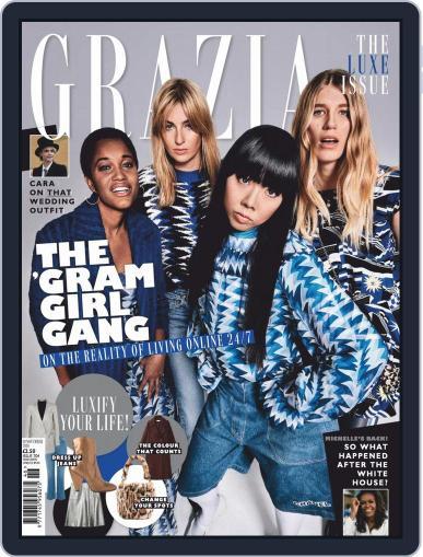 Grazia (Digital) November 19th, 2018 Issue Cover