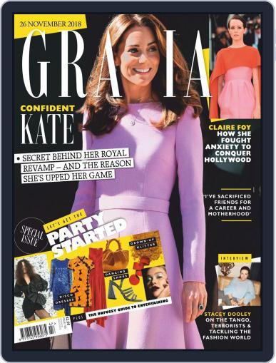 Grazia (Digital) November 26th, 2018 Issue Cover