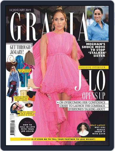 Grazia (Digital) January 14th, 2019 Issue Cover