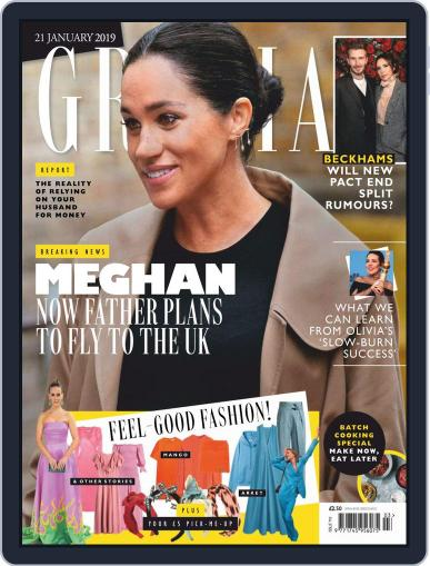Grazia (Digital) January 21st, 2019 Issue Cover