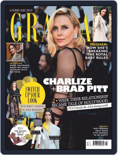 Grazia (Digital) February 4th, 2019 Issue Cover