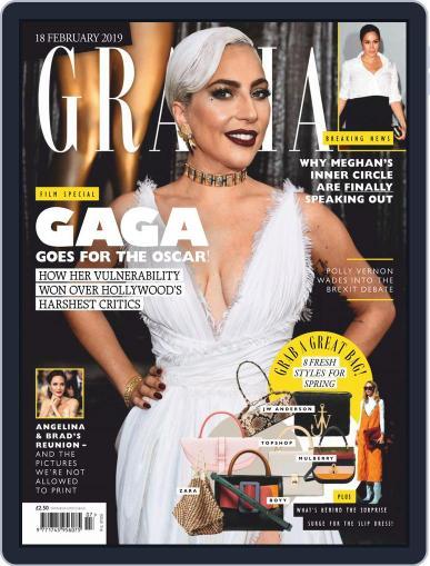 Grazia February 18th, 2019 Digital Back Issue Cover