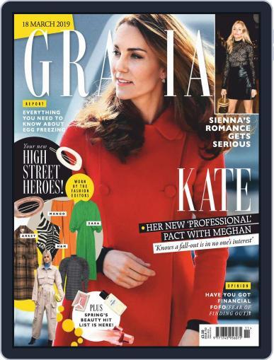 Grazia (Digital) March 18th, 2019 Issue Cover