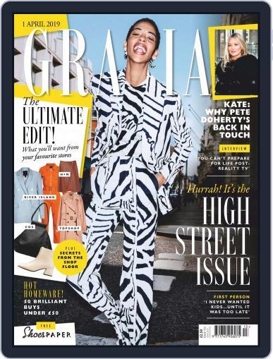 Grazia (Digital) April 1st, 2019 Issue Cover