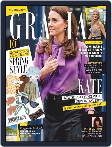 Grazia (Digital) April 8th, 2019 Issue Cover