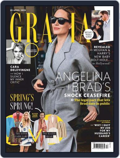 Grazia (Digital) April 29th, 2019 Issue Cover