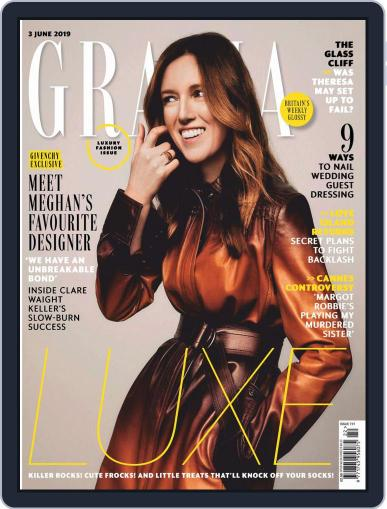 Grazia (Digital) June 3rd, 2019 Issue Cover