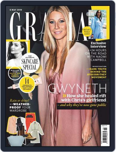Grazia June 6th, 2019 Digital Back Issue Cover