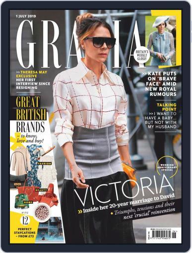 Grazia (Digital) July 1st, 2019 Issue Cover