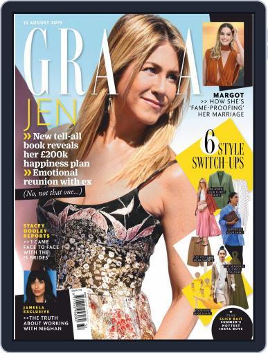 Grazia (Digital) August 12th, 2019 Issue Cover