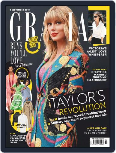 Grazia (Digital) September 9th, 2019 Issue Cover