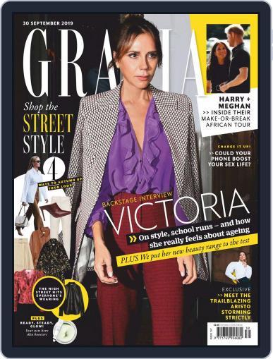 Grazia (Digital) September 30th, 2019 Issue Cover