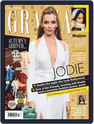 Grazia (Digital) October 7th, 2019 Issue Cover