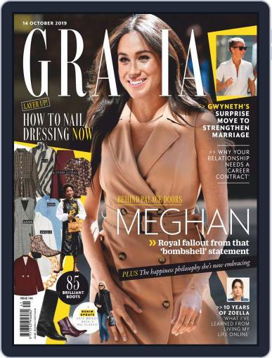 Grazia (Digital) October 14th, 2019 Issue Cover