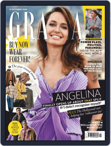 Grazia October 21st, 2019 Digital Back Issue Cover