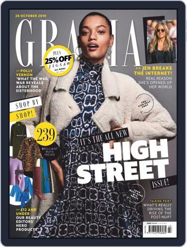 Grazia (Digital) October 28th, 2019 Issue Cover