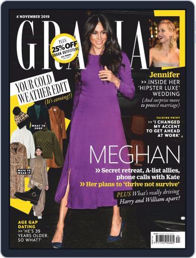 Grazia November 4th, 2019 Digital Back Issue Cover
