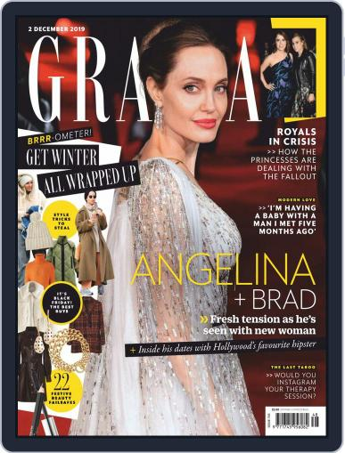 Grazia December 2nd, 2019 Digital Back Issue Cover